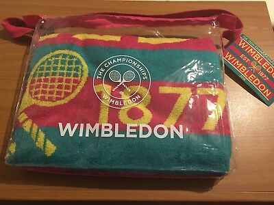 Official Christy Wimbledon Tennis Championship 2016 - Ladies Towel **bnwt**