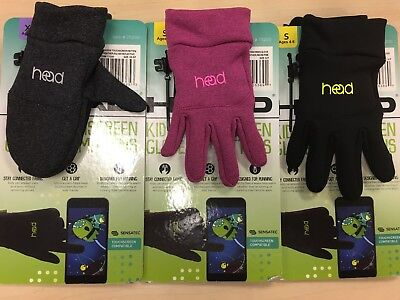 Head Kid's Sensatec Touchscreen Mittens XS(2-4) & GlovesS(4-6) M(6-10)
