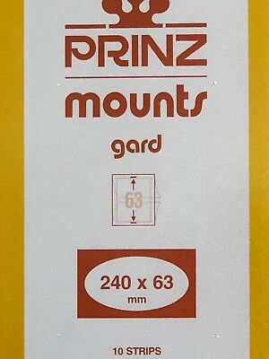Prinz Stamp Mounts 240/63 ***We Help And Support Our Veterans***