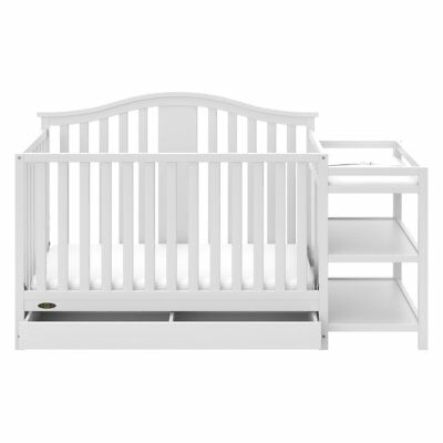 Solano 4-in-1 Convertible Crib and Changer with Drawer by Graco