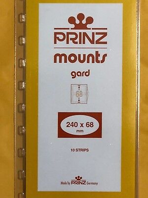 Prinz Stamp Mounts 240/68  -  ***We Are A Veteran Supportive Business***