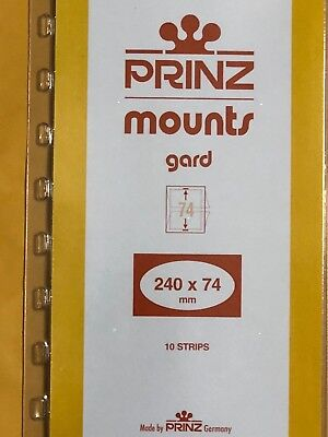 Prinz Stamp Mounts 240/74   ***We Are A Veteran Supportive Business***