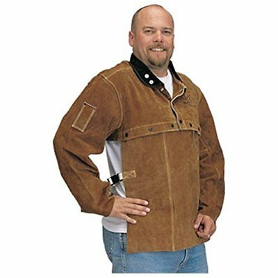 "Revco Black Stallion 220CS Cowhide Welding Cape Sleeve w/20"" Bib Combo - XXL"
