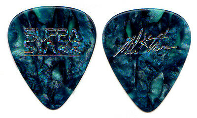 ALICE IN CHAINS Guitar Pick : 2009 Supra Starr Mike pearl blue signature