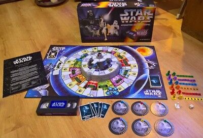 STAR WARS Interaktives Video Brettspiel - PARKER + DVD