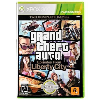 New Factory Sealed Xbox 360 Grand Theft Auto Episodes From Liberty City 2 Games