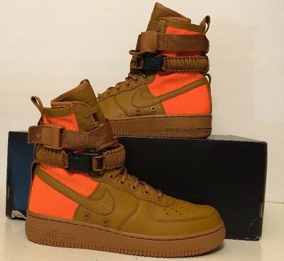 online store 66ad6 ae632 Nike SF AF1 QS Special Field Air Force 1 High Desert Ochre 903270-778 Size