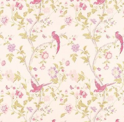 Laura Ashley Wallpapers 3 Rolls Summer Palace Cerise