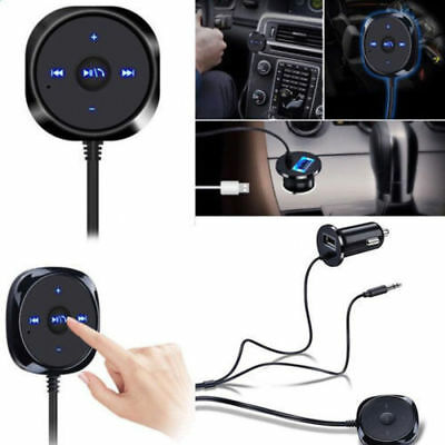 NEW Car Bluetooth Audio Receiver Kit Cigarete Lighter USB Charger AUX MP3 Player