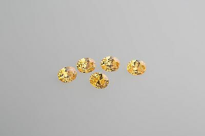 Yellow Black Pink 5A Oval Cut Cubic Zirconia Colour /& Size Choice