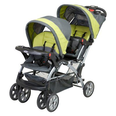 Baby Trend Sit n Stand Double Stroller - Carbon, Carbon