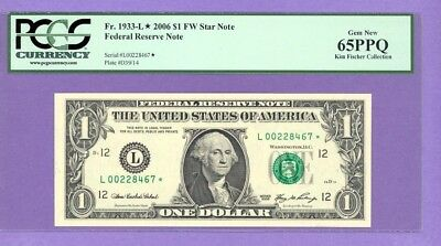 2006 $1.00 STAR NOTE San Francisco  District PCGS 65 PPQ L* Run 1  L00228467*