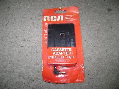 RCA (HPCA100DR) Cassette Adapter MP3/CD Player New