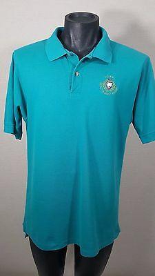 Vintage Doral Beach Golf Resort Polo Shirt Men's Size XL 1980s Hanes Embroidered
