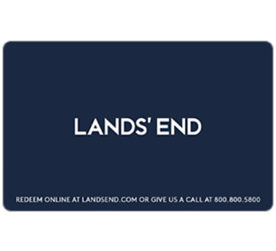 Lands' End - Gift Card $25 $50 or $100 - Email delivery