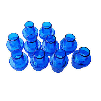 200 pcs Pocket CPR Mask Oxygen Inlet One Way Valve Mouthpiece Filter Blue New