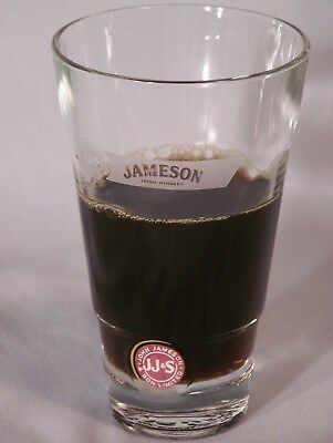 "John Jameson & Son Limited -  Irish Whiskey glass - approx. 5.25"" tall"