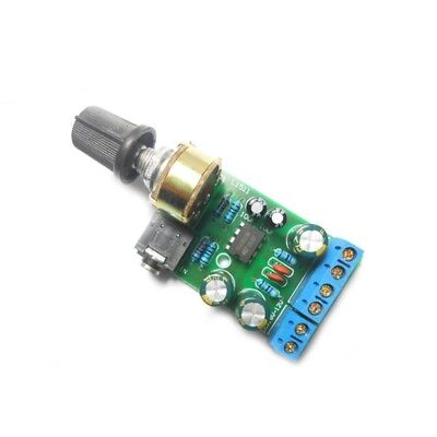 Mini DC 1.8-12V TDA2822M 2.0 Channel Stereo AUX Audio Amplifier Board Module