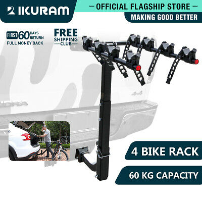 IKURAM 1-5 Bike Bicycle Floor Parking Rack Instant Storage Stand Cycling Portabl