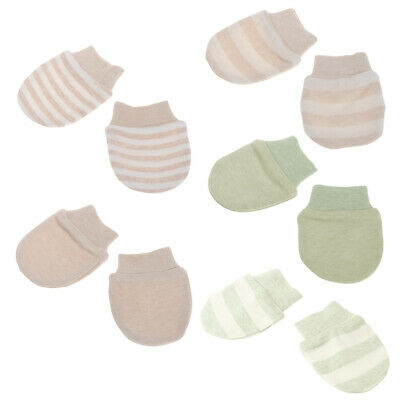 New Baby Anti Scratching Gloves Newborn Protection Face Cotton Scratch Mittens