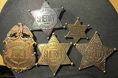 Sheriffsterne, US-Marshall, Sheriff Lincoln Territorium, Sheriff Grand County