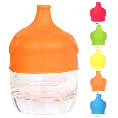 Baby Elephant Spill Proof Cup Cap Kids Travel Silicone Healthy Safety Bottle Lid