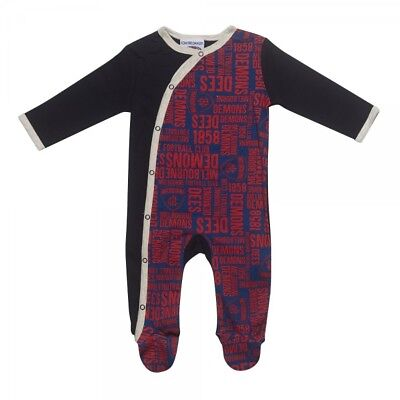 Melbourne Demons Baby Infant Romper Coverall Official AFL