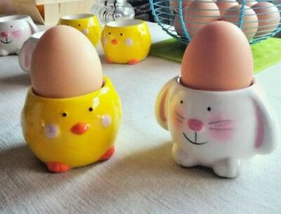 Ringtons egg cup set 2 170 picclick uk easter egg cups bunny chicken design ceramic cup set novelty gift party decor negle Gallery