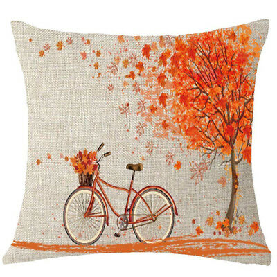 HAPPY CAMPERS Stars Home Decor Ornate Sofa Waist Throw Cushion Cover Pillow Case