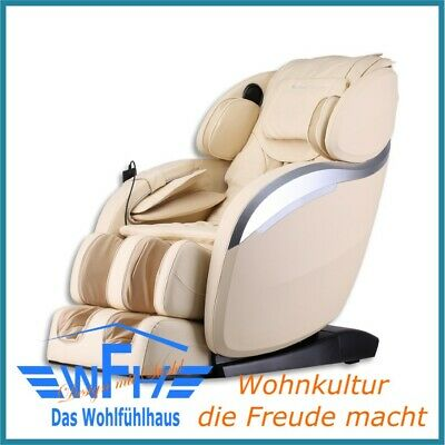 Massagesessel Re- Magic in Beige Fernsehsessel Relaxsessel Wellnesssessel