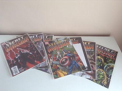 Marvel Comics Secret Invasion 1-4 Plus #1 Variants, Directors Cut & One Shot