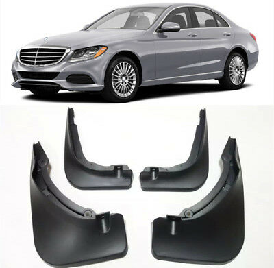For 12-14 Mercedes-Benz C-Class Sport C200 C250 C300 Mud Flaps Splash Guard