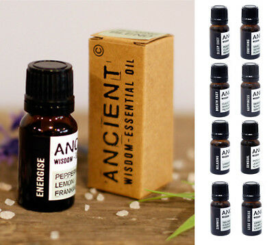 Aromatherapy Essential Life Oil Blends - 10ml - Natural & Pure - Ancient Wisdom