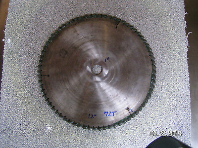 "5-12"" Industrial Circular Saw Blades, Carbide + HSS"