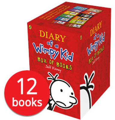 Diary of a Wimpy Kid Box Set Collection - 12 Books NEW 2018