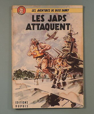 Buck Danny 1 Japs Attaquent Hubinon Charlier Reedition 1952 Dupuis