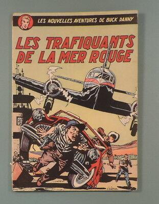Buck Danny 7 Trafiquants Mer Rouge Hubinon Charlier Reedition 1952 Dupuis