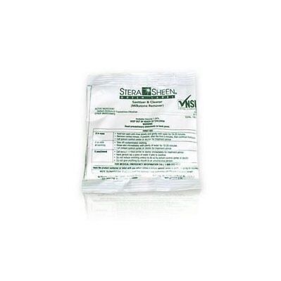 Box of 100 - 2 oz. Stera-Sheen Green Label Sanitizer Packets Purdy Products