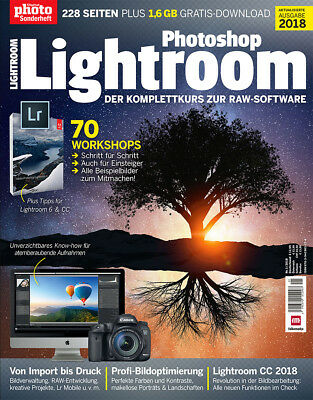 Fotografie Digitalkamera Foto Photoshop Lightroom 01/2018 Zeitschrift Magazin
