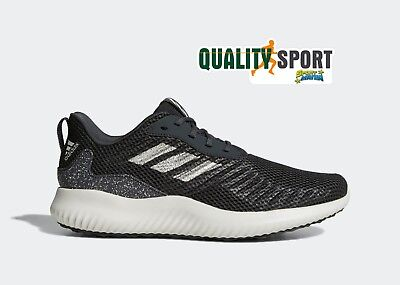 new concept 73b2b 64ae9 Adidas Alphabounce RC Nero Scarpe Shoes Uomo Sportive Sneakers CG5123