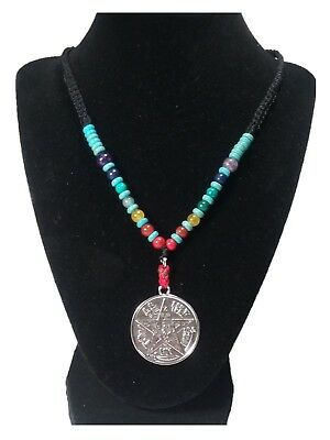 Evil Eye Tetragrammaton Powerful Protection Amulet Necklace