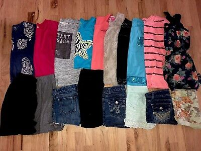 Really nice Girls Lot 18 pieces of Summer Spring Clothes Outfits size 12
