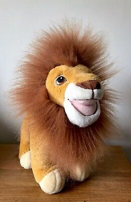 Disney The Lion King Simba Soft Plush Toy Walt Disney Standing Simba 15""