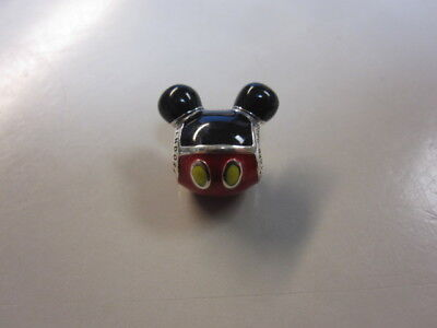 DISNEY PANDORA MICKEY MOUSE PLAYFUL ICON CHARM-Pand-C9616-FREE SHIP & FREE Gift