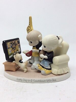 PRECIOUS MOMENTS Everyday is a Touchdown With You Figurine: Pittsburgh Steelers