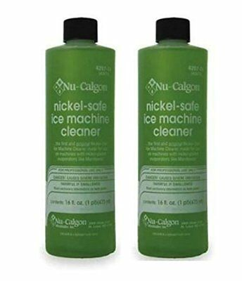 Nu Calgon Ice Machine Cleaner Nickel Safe 4287-34, 2 Pack