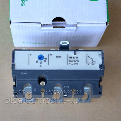 QTY New Schneider Electric TMD 44/63 A Trip Unit (LV429032)