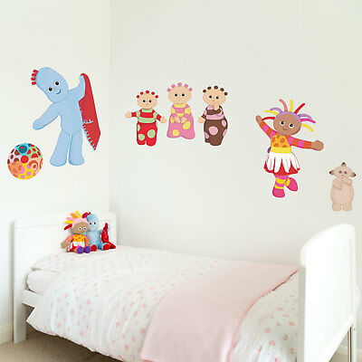 In the Night Garden friends wall stickers   Official In the Night Garden decor