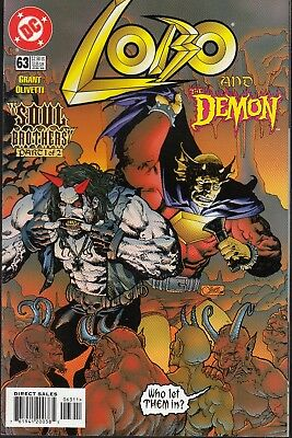 Lobo  #63 1999 Dc -And The Demon/ Soul Brothers P1/2- Grant/ Olivetti...nm-