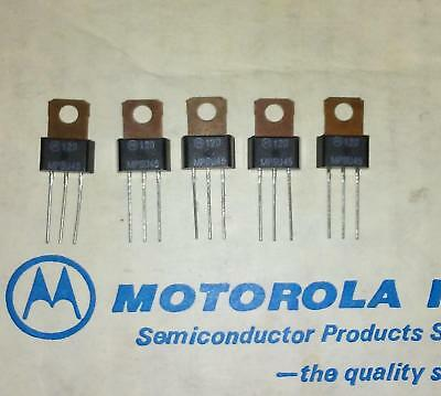 10 x MPS-U45 NPN Darlington Transistor 40v 2a TO-202 - MPSU45 - Genuine MOTOROLA